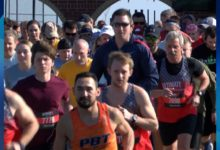 Photo of Hundreds Participate in Presidents Day Race in Evansville