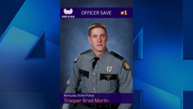 Photo of KSP Trooper Saved With Granted Tourniquet From Spirit of Blue Foundation