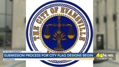 Photo of Evansville Mayor Winnecke Welcomes New City Flag Design Submission
