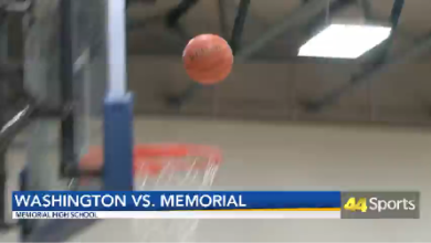 Photo of HS BB Memorial Defeats Washington: