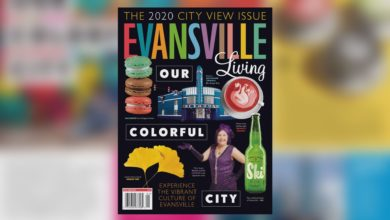 Photo of Evansville Living Highlights Vibrant City Views