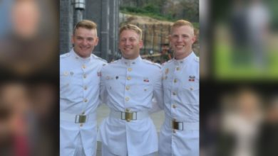 Photo of Jasper Native & West Point Cadet Shares His Story With Students