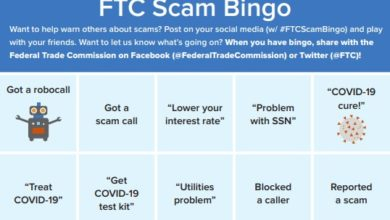 Photo of Federal Trade Commission Offers Solution to Scam Calls Amid Coronavirus