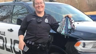 Photo of Boonville Police Officer Casey Miller Is This Week's Hometown Hero