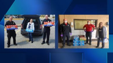 Photo of Businesses Donate Supplies to Tri-State First Responders