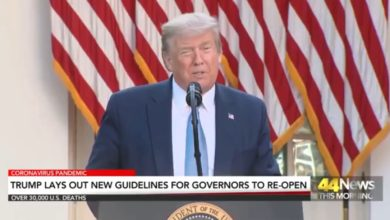 Photo of President Trump Will Deliver Federal Guidelines to Nation's Governors on Re-Opening States