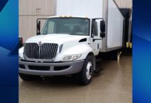 Photo of Box Truck Stolen From Easterseals Posey County Location
