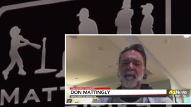 Photo of Don Mattingly on the Impact of COVID-19 on Local Charities and Baseball