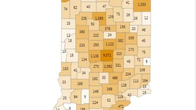 Photo of 5 New Cases Reported in Vanderburgh Co.; ISDH Releases State Totals