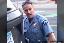Photo of Fired MPD Officer Derek Chauvin Charged in George Floyd's Death