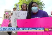 Photo of Madisonville Protestors Call for Social Justice