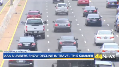 Photo of AAA Numbers Show Decline in Travel This Summer