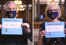 Photo of Indiana Officials Encourage Hoosiers to Wear Masks in New Initiative