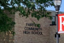 Photo of Athletic Workouts at Fairfield Community High School Suspended Due to COVID-19 Concerns