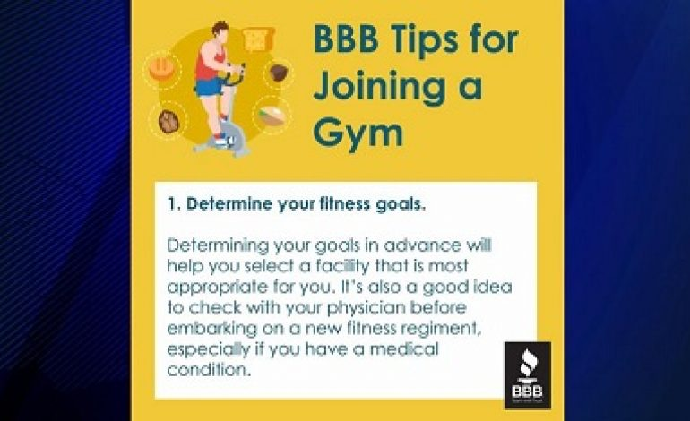 Scam Central: Gym Joining Tips