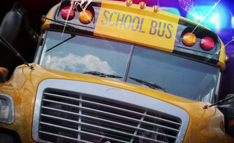 Dispatch: School Bus Sideswiped by Truck