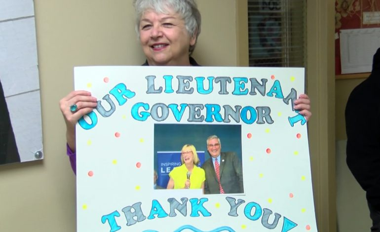 People Gathered To Send Off Lt. Gov. Elect Suzanne Crouch