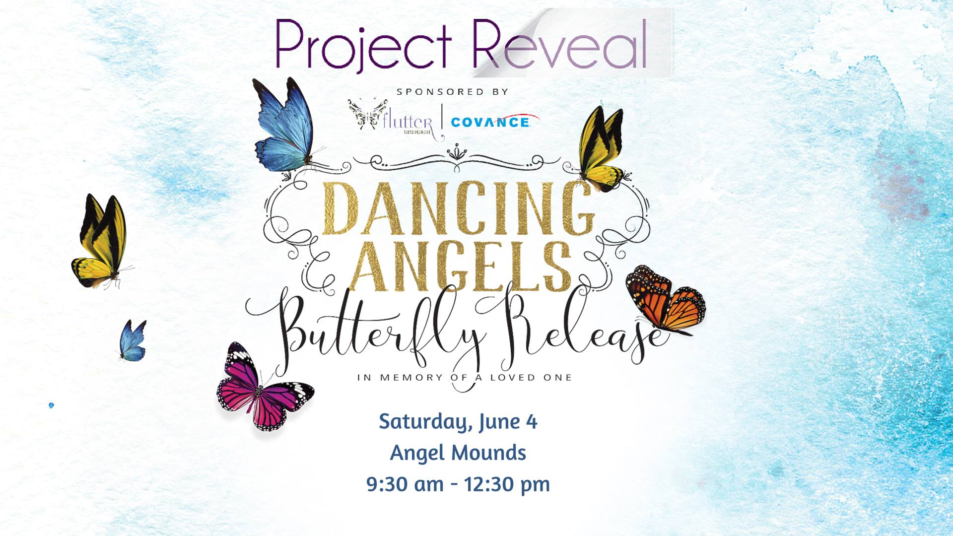 """Photo of """"Project Reveal's"""" Dancing Angels Butterfly Release"""