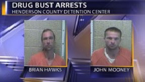 Two Arrested Following A Drug Bust in Henderson County - 44News