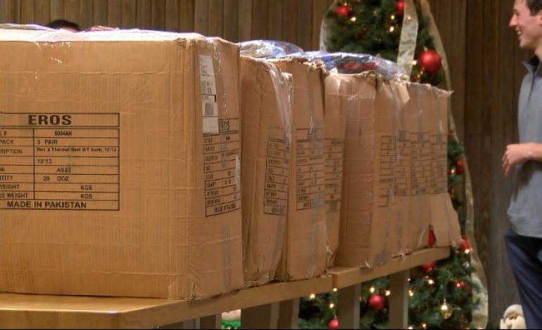 More than 1,800 Socks Donated to Evansville Rescue Mission