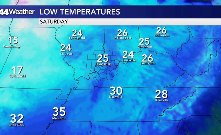 Coldest Weather Since March Ahead