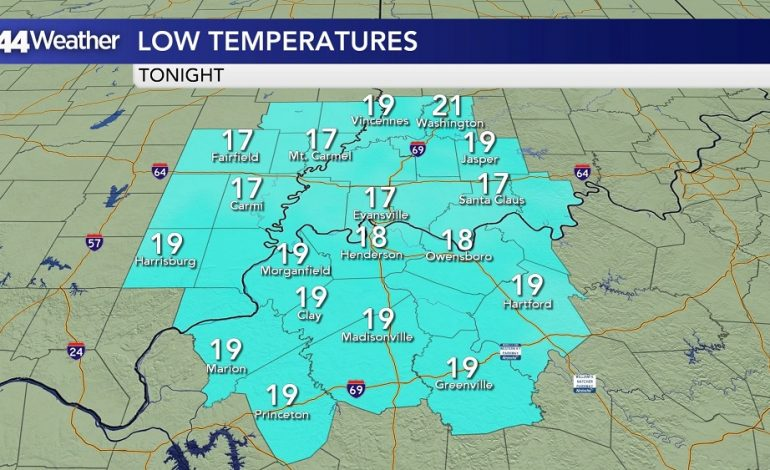 Brutally Cold Night, Warmer Weather Ahead