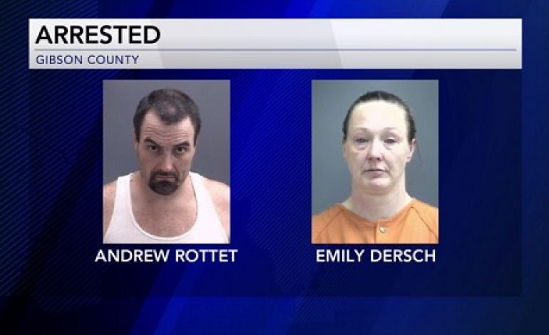 Gibson County Police Pursuit Ends in Three Arrests