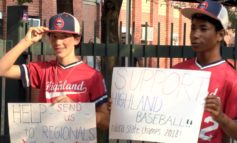 Highland 14u Baseball Raises Money for Regionals at Otters Game