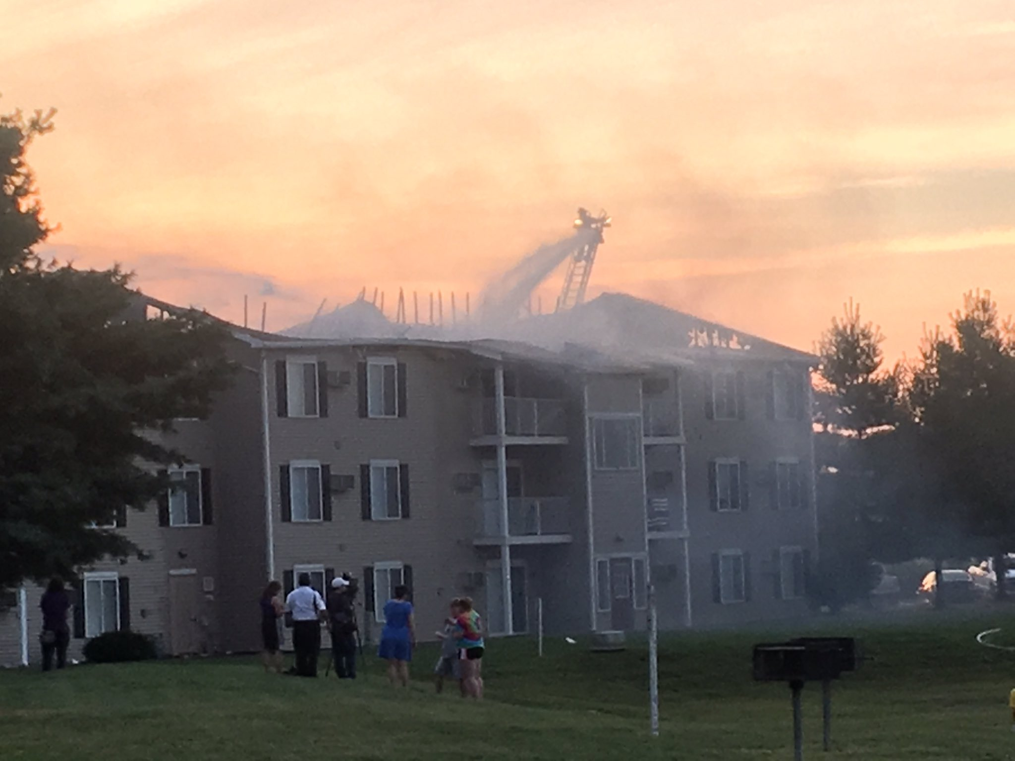 Dozens Of Residents Displaced By Evansville Apartment Fire