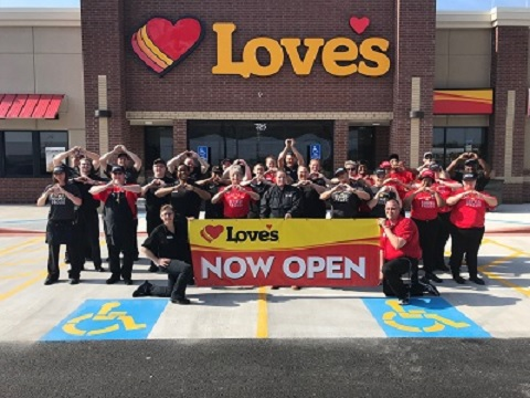 Photo of Love's Travel Stop Now Open in Hopkins County
