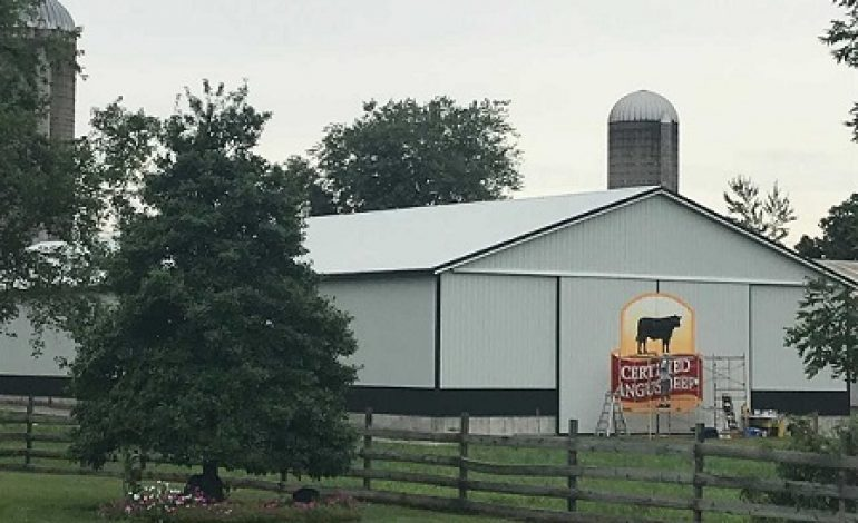 Hoffman Angus Farms in Otwell to Receive Iconic Barn Painting