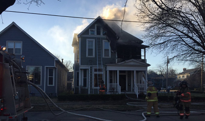 Photo of Structure Fire On Parrett Street