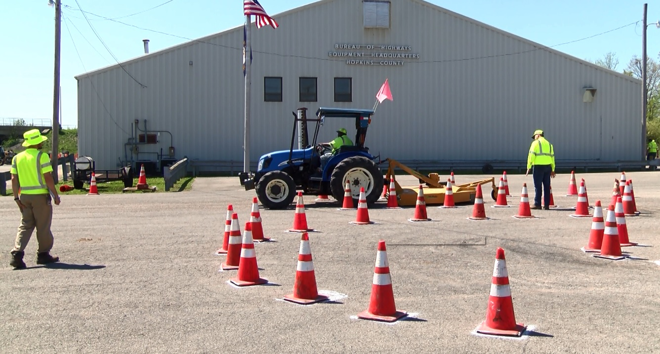 Photo of Roadeo Event Designed to Help KYTC Workers Improve Skills