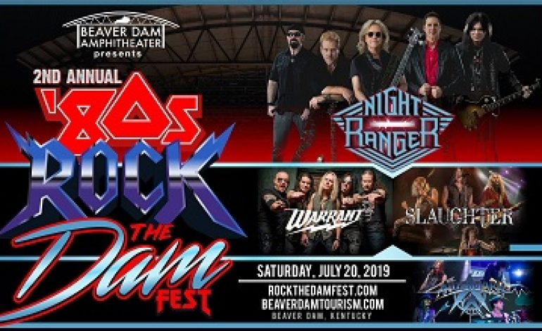 Performers for the '80s ROCK the DAM Announced