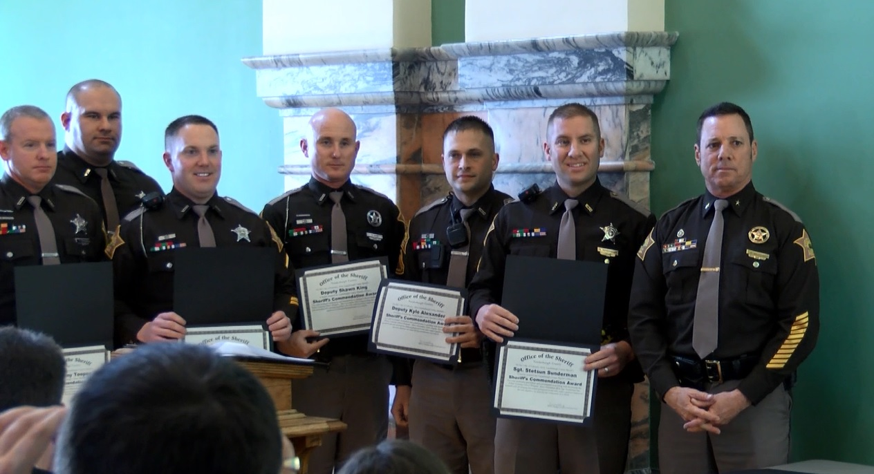 Sheriff's Deputies, Confinements Officers Recognized At Ceremony