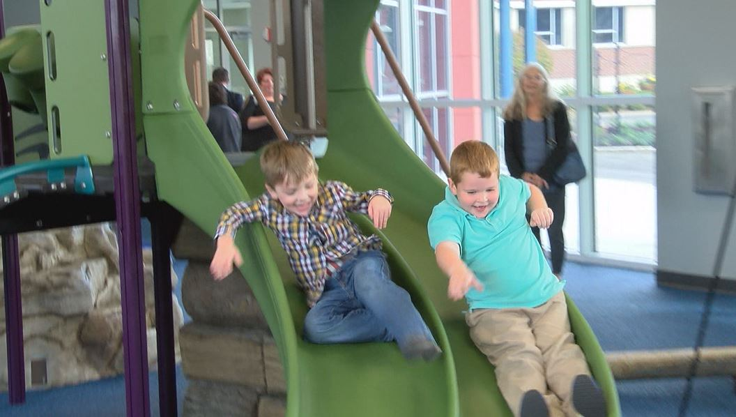 Photo of St. Vincent Opens One-Of-A-Kind Sensory Playground