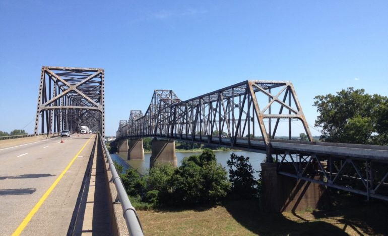 KYTC Alerting Drivers to Overnight Work Zones on Twin Bridges