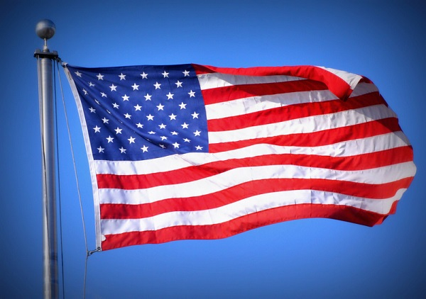 Photo of American Flags to be Placed on Historical Evansville Buildings