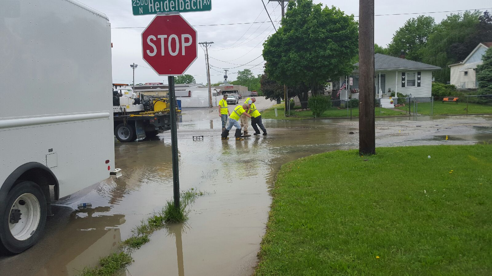 Photo of UPDATE: Water Main Break Just North Of Diamond Avenue