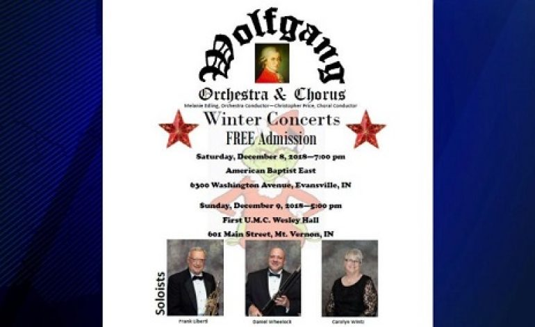 In The Community: Wolfgang Orchestra and Chorus Concerts