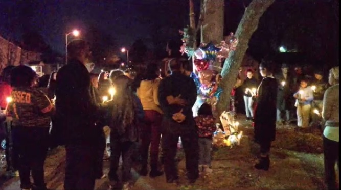 Photo of Candlelight Vigil Held in Memory of Children Involved in Fatal Crash