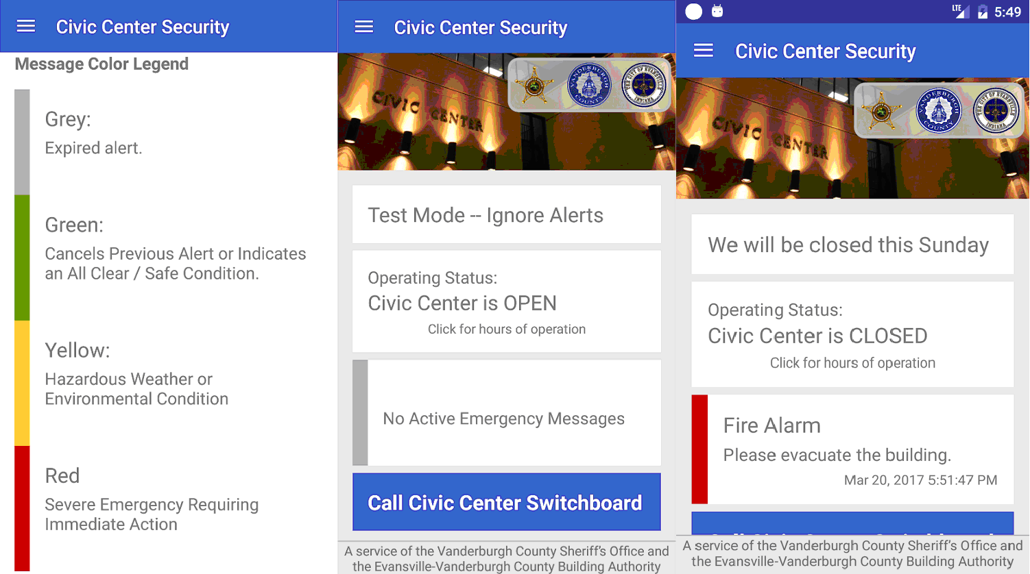 Civic Center Security App Designed to Keep the Public Safe