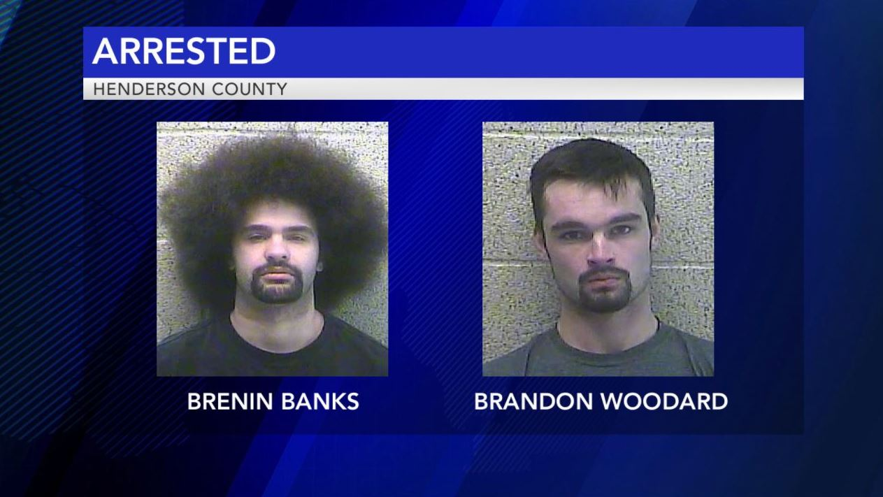 Photo of Two Men Arrested After Target Practice in Henderson County