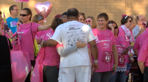 Photo of Hundreds Take Part In Race For The Cure