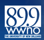 The University of New Orleans Public Radio