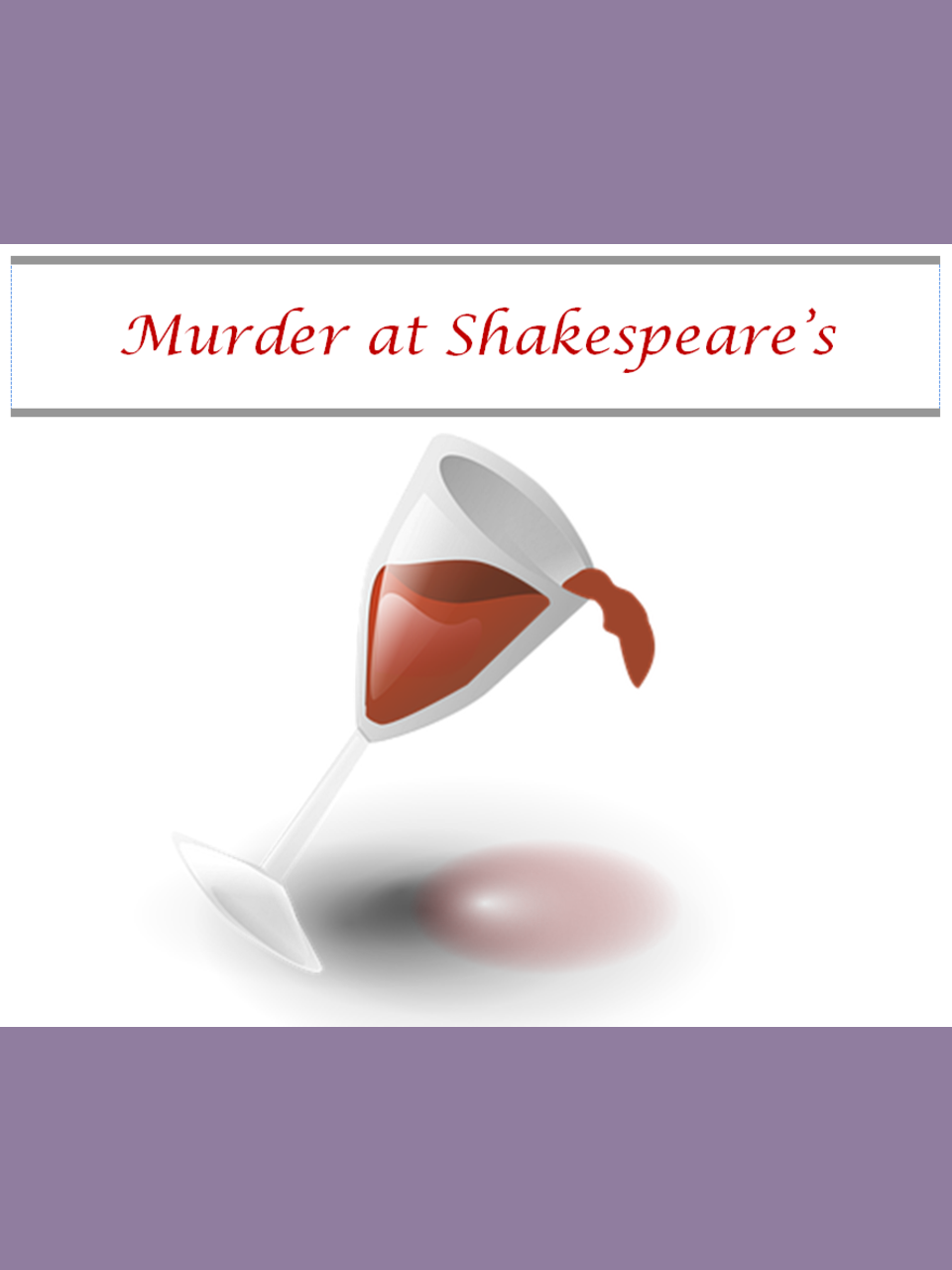 Murder at Shakespeare's