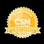 CSM Logo for Certified scrum certification uk