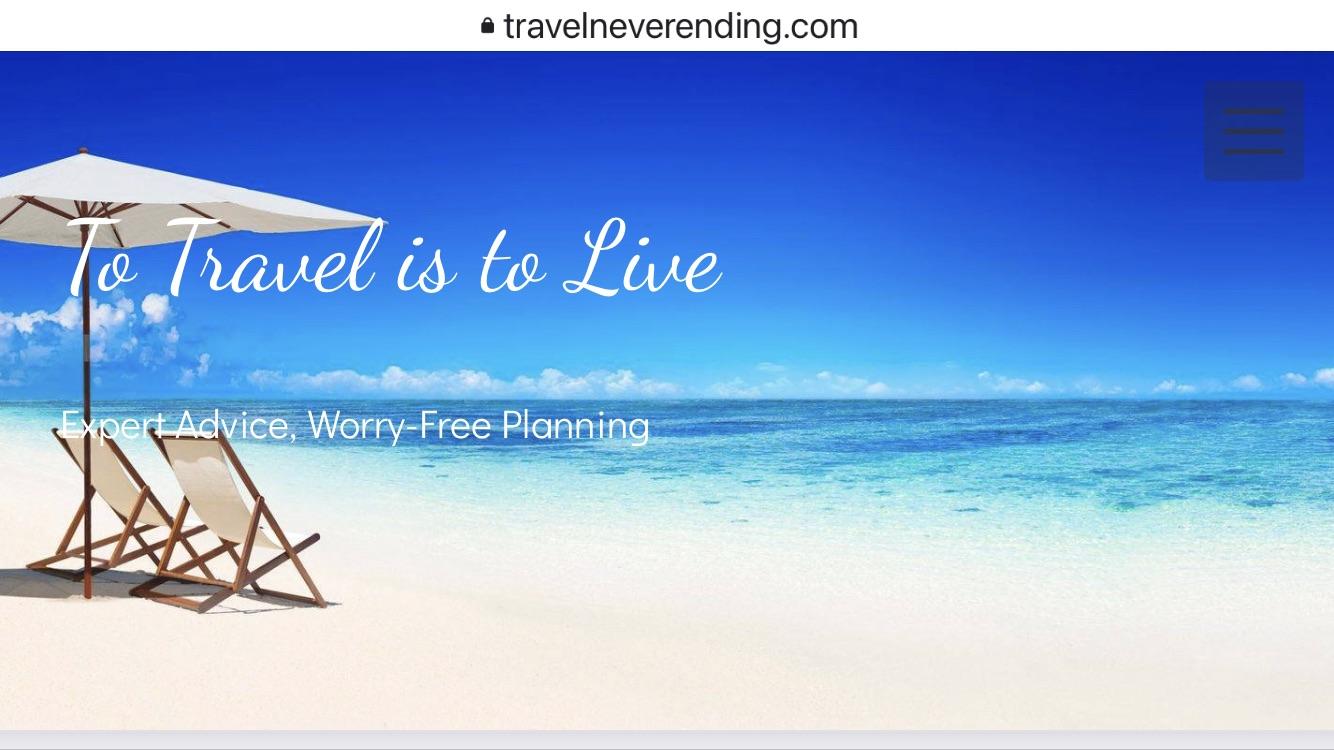 Travel Never Ending Travel Advisors logo