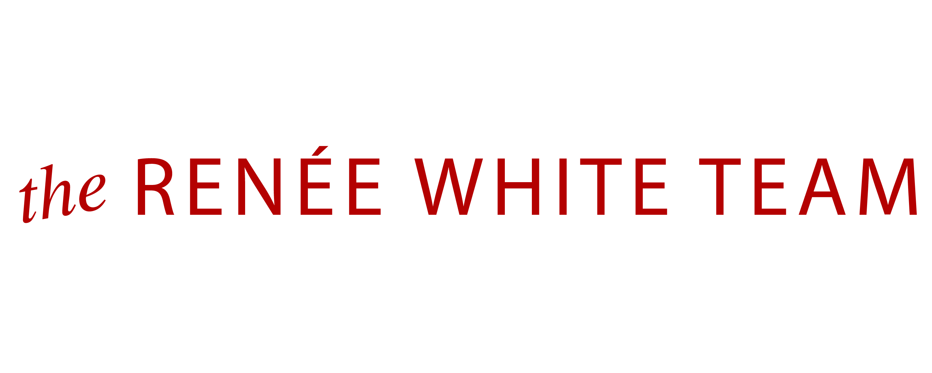 Renée White Team logo