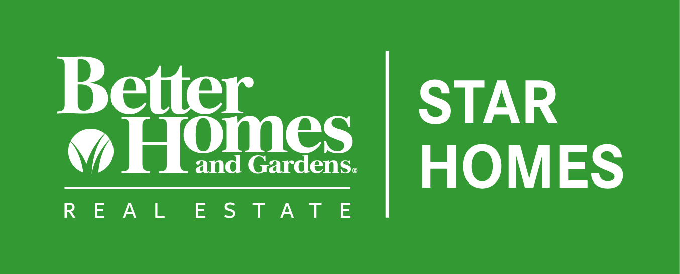 Better Homes and Gardens Real Estate Star Homes logo